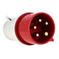 Вилка переносная 045 3Р+РЕ+N 125А 380В IP67 EKF PROxima
