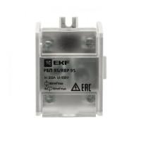 Распределительный блок проходной РБП 95 (1х95-4х16 мм2) 232/100А EKF PROxima