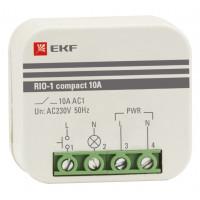 Импульсное реле RIO-1 compact 10А EKF PROxima