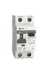 Дифференциальный автомат АВДТ-63  6А/ 30мА (характеристика C, эл-ех тип A) 6кА EKF PROxima