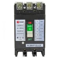 Выключатель автоматический ВА-99М   63/63А 3P 25кА EKF PROxima