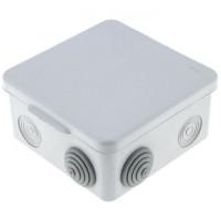 Коробка распаячная КМР-030-014 с крышкой  наружная (100х100х55), 8 мембранных вводов IP54 EKF PROxima