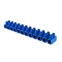 Колодка клеммная (10мм.) 10А полистирол синяя (10шт.) EKF PROxima
