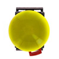 Кнопка AEA-22 желтая NO+NC Грибок EKF PROxima
