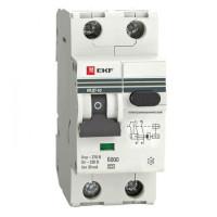 Дифференциальный автомат АВДТ-63 10А/ 30мА (характеристика C, эл-ех тип A) 6кА  EKF PROxima