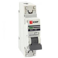 Выключатель нагрузки 1P  63А ВН-63 EKF PROxima