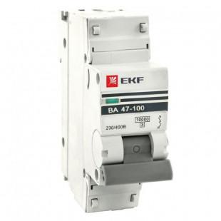 Автоматический выключатель 1P  25А (D) 10kA ВА 47-100 EKF PROxima