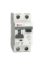 Дифференциальный автомат АВДТ-63 50А/100мА (хар-ка C, электронный тип A) 6кА EKF PROxima