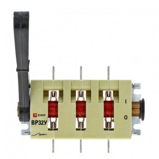 Выключатель-разъединитель ВР32У-37В31250 400А 1 направ. с д/г камерами съемная левая/правая рукоятка MAXima EKF PROxima