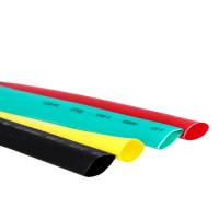 Термоусаживаемая трубка ТУТ нг 12/6 набор:7 цветов по 3шт. 100мм. EKF PROxima
