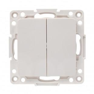 Стокгольм Механизм Выключателя 2-кл. проходного 10А белый EKF PROxima