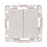 Стокгольм Механизм Выключателя 2-кл. 10А белый EKF PROxima