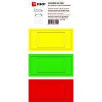 Цветные наклейки для трансформаторов тока ТТЕ и ТТЕ-А