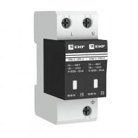 Ограничитель импульсных напряжений ОПВ-C/2P In 20кА 400В с сигн. EKF PROxima
