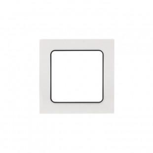 Стокгольм Рамка 1-местная белая с линией цвета черный EKF PROxima