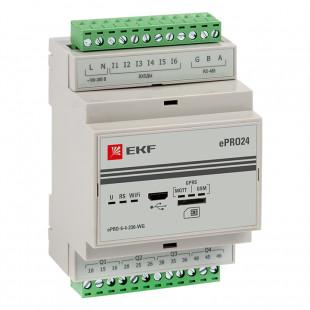 Контроллер базовый ePRO удаленного управления 6вх4вых 230В WiFi GSM EKF PROxima